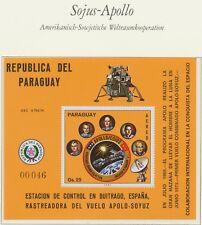 PARAGUAY 1976 APOLLO SOYUZ superb U/M rare MS