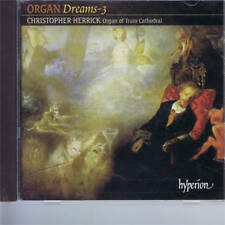 CD HYPERION CHRISTOPHER HERRICK - ORGAN TRURO CATHEDRAL - ORGAN DREAMS vol 3