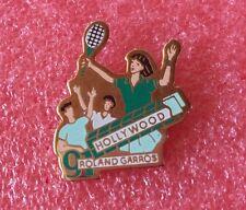 Pins Sport TENNIS ROLAND GARROS 91 Sponsor HOLLYWOOD Chewing-gum