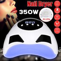350W 36 LED UV Lampen Lichthärtungsgerät Nagel Trockner Maniküre Gel Dryer
