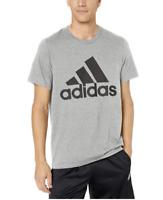 Adidas Men's Short-Sleeve Badge of Sport Graphic logo T-Shirt Mens Active