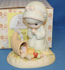 Precious Moment Figurine, 455695 Praise God From Whom All Blessings Flow, 455695