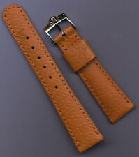 20mm GENUINE WILD BOAR STRAP FITS SPEEDMASTER LEATHER LIN & GENUINE OMEGA BUCKLE