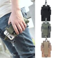1000D Nylon Pouch Military Molle Radio Walkie Talkie Holder Bag Mag Pouch