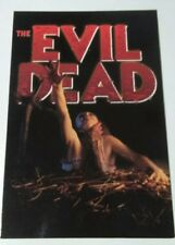 The Evil Dead Horror Movie Girl Postcard Vintage Original From Hot Topic Stores