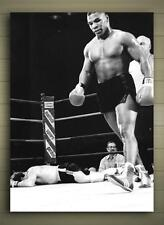 MIKE TYSON KO FRAMED CANVAS POSTER SIZE A0 A1 A2 A3 A4 HEAVYWEIGHT BOXING IRON