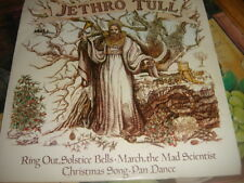 "Jethro Tull Ring Out Solstice Bells EP - P/S 7"" vinyl single record UK CXP2 ex++"