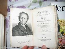 """""""Eloge historique du lieutenant-général FOY"""" Paul LACROIX - Rare - 1825 Gravure"""
