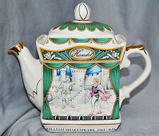 Teekanne Teapot Sadler, England, William Shakespeare, Hamlet