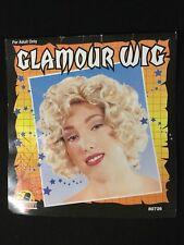 Scarewear Short Blonde Curly Costume Womens Wig