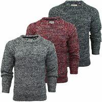 Mens Jumper Brave Soul 'Dawkins' Knit Crew Neck Sweater