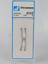 4332 VIESSMANN - ESCALA N - CATENARIA 194,6MM. / N Fahrdraht 61 mm, 5 Stück