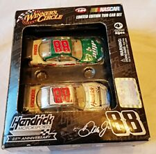 2009 Dale Earnhardt Jr Limited Edition 25th Anniversary Winners Circle 2 Car Set