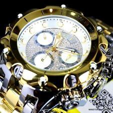 Invicta Reserve Venom Hybrid Diamond 2 Tone Polished Steel Swiss 52mm Watch New