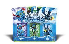 Skylanders Spyro's Adventure 3 Pack (Wrecking Ball, Stealth Elf, Sonic Boom) NEW
