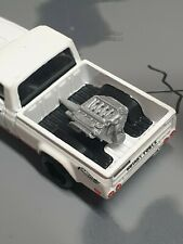 Custom 1:64 Scale Modern V8 Engine Hot Wheels Matchbox