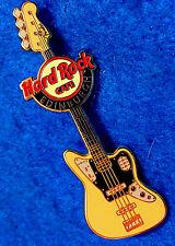 EDINBURGH 4 STRING JAGUAR BASS FENDER GUITAR SERIES 2011 Hard Rock Cafe PIN LE