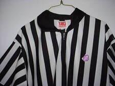 Striped Referee Shirt TAG Basketball Football Costume Size XXL 2xL (46-48) Lot N