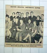 1939 Seaton Delaval Motor Club Marine Cafe Whitley Bay
