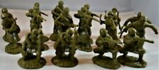 TSSD 1/32nd Scale World War II Russian Infantry Plastic Soldiers Set New In Bag!