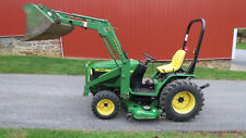 2000 JOHN DEERE 4100 4X4 TRACTOR W/ LOADER & BELLY MOWER HYDRO 20HP DIESEL