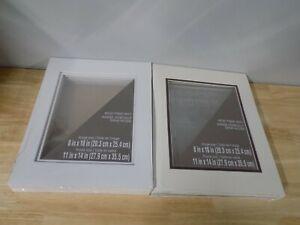 15 Studio Decor White Designer Acid Free Mat 11x14 Frame Size 8x10 Image Size
