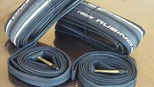 Vittoria Rubino PRO IV SPEED Folding Tyres (700x23) Road Bike (NEW) Black