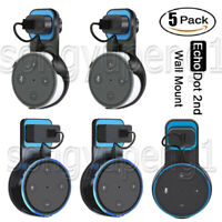 5 Pack Echo Dot Wall Mount Stand Holder Stand For Amazon Alexa Echo Dot 2nd Gen