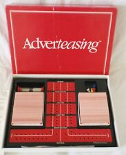 ADVERTEASING BOARD GAME - PARKER BROTHERS 1988