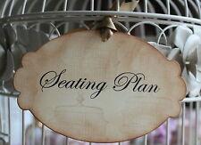 SEATING PLAN-Sign-Tag-Label-Vintage Birdcage-Beautiful-Unique-Vintage Style