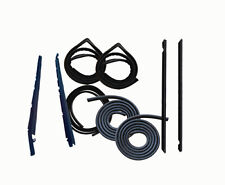 81 82 83 84 85 86 MUSTANG WEATHERSTRIP 9 PC KIT COUPE