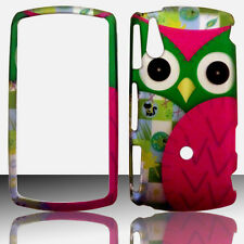 Green Owl Sony Ericsson Xperia Play Case Cover Protector Hard Snap on