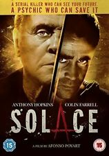 Solace 2016 DVD Anthony Hopkins Colin Farrell Thriller Cert 15 R2