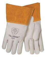 Tillman 1350 Pearl Top Grain Cowhide Mig Welders Gloves Size Sm Xl