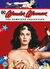 WONDER WOMAN COMPLETE COLLECTION DVD Lynda Carter Norman Burton UK Rele New R2