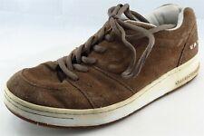 VANS Shoes Size 10 M Brown Fashion Sneakers Leather Men