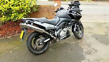 Suzuki DL 1000cc V-Strom  2002 -2013  Stainless round Road Legal / RACE Exhausts