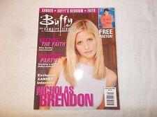 Buffy The Vampire Slayer UK Magazine Issue 9 June 2000 Nicholas Brendon
