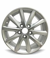 16x65 Inch Aluminum Wheel For 2001 2021 Toyota Camry Rim 5 Lug Silver Machined Fits Camry