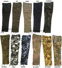 US Pant BW Cargo Hose Kampfhose 11 Farben Bundeswehr Rangerhose Army Cargohose
