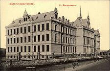 Bistritz Bistrița Beszterce Rumänien ~1910 Obergymnasium Gymnasium School Schule