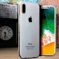 Apple iPhone 10S Impact Displacement Composite Gel  Transparent Case  ISPORT™
