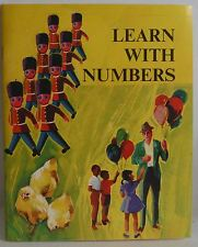 Learn with Numbers by McGraw-Hill FEP children's picture book Homeschool 1970 pb