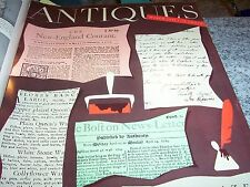 Vintage 1954 ANTIQUES Magazines in binder: 11 Issues, February - December