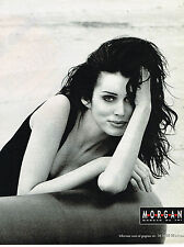 PUBLICITE ADVERTISING 114  1992  MORGAN  mode pret à porter