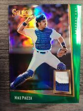 SSP!!! 2020 Select Mike Piazza Green Prizm Patch Jersey SN 3/5 SUPER RARE SSP!!!