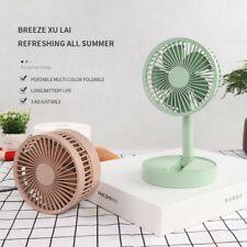 Portable Travel Carry Fan Summer Fan Desktop Telescopic Folding Small Cool Fans