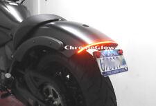 Kawasaki Vulcan S Fender Eliminator LED Brake & Turn Signal Light Bar Kit; Smoke