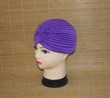 2018 Women's Unisex Indian Style Stretchy Turban Hat Hair Head Wrap Cap Headwrap