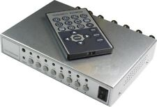 4CH Kamera Video Quad Splitter CCTV BNC PIP Überwachungssystem